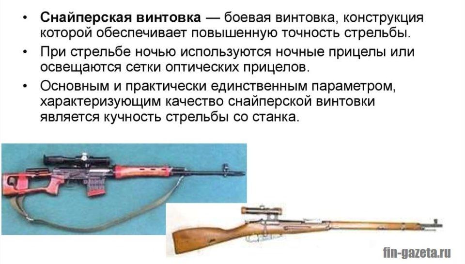 Картинка Снайперская винтовка